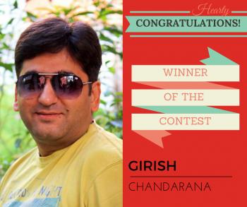 WINNER- Girish!