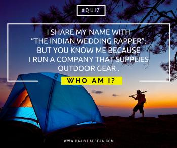 Who am i - contest- siddharth