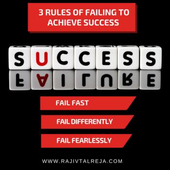 failure - success - rajiv